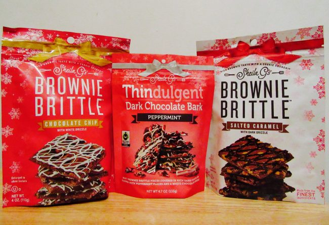 Brownie Brittle Holiday Selection