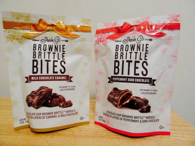 Brownie Brittle Bites