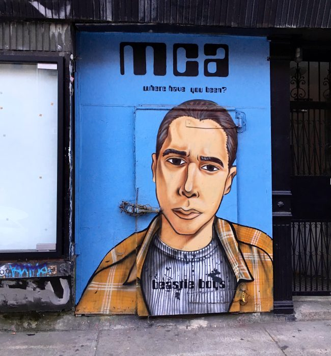 MCA Beastie Boys Mural