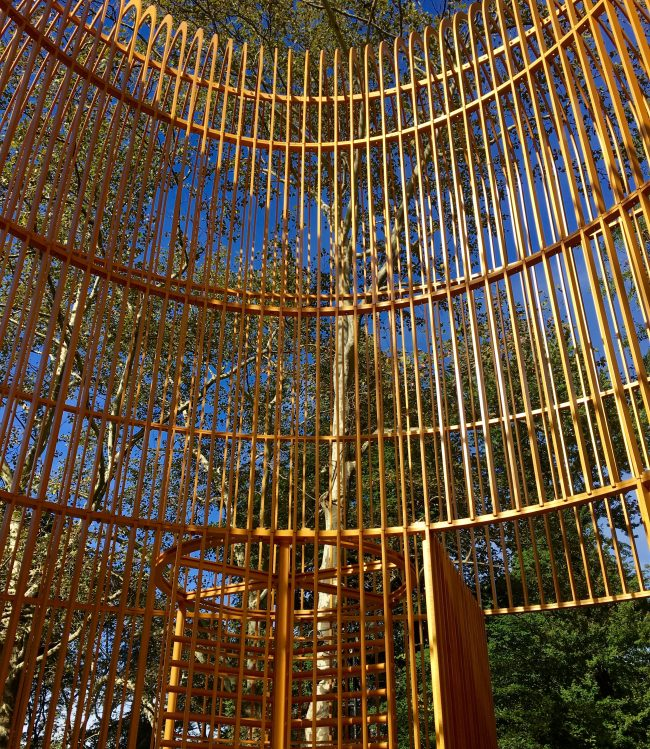 Gilded Cage Central Park Detail