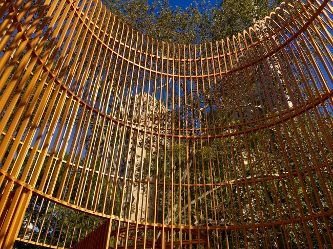 Gilded Cage Central Park Top Detal