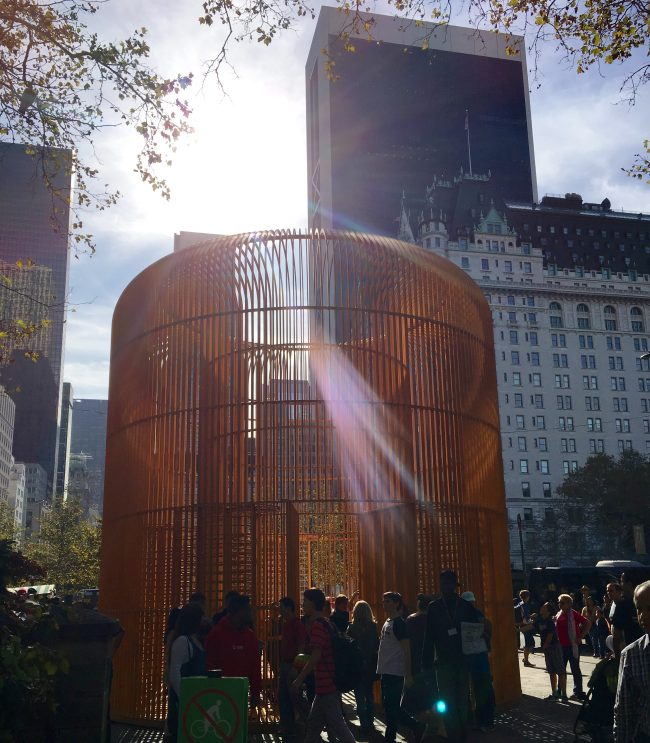 Gilded Cage Central Park