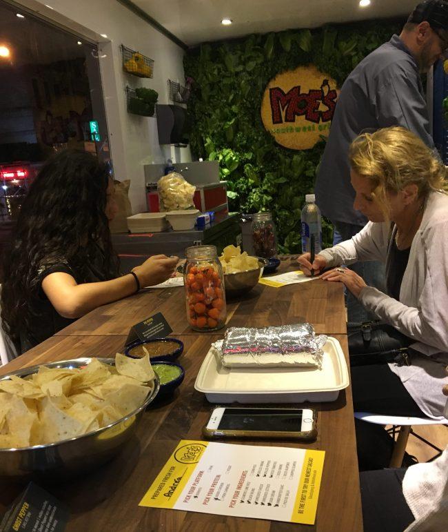 Burrito Ordering