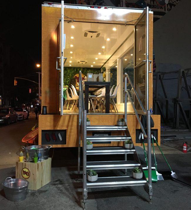 Burrito Truck Entrance