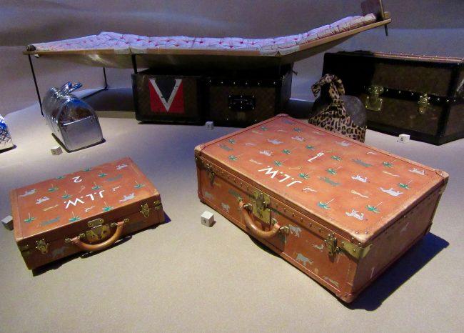 2 LV Suitcases