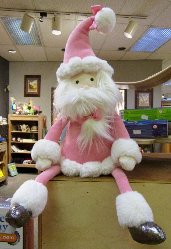 Pink Santa Doll
