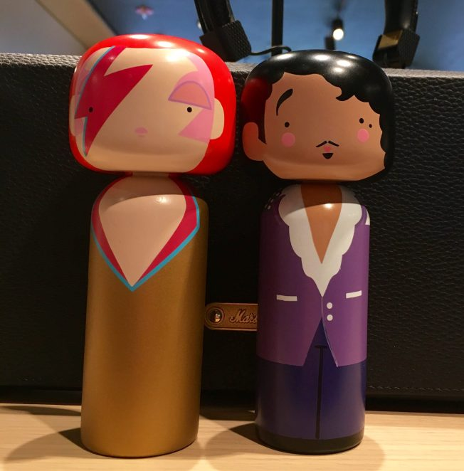 Bowie and Price Wooden Dolls
