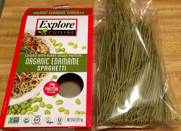 Edamame Spaghetti Package