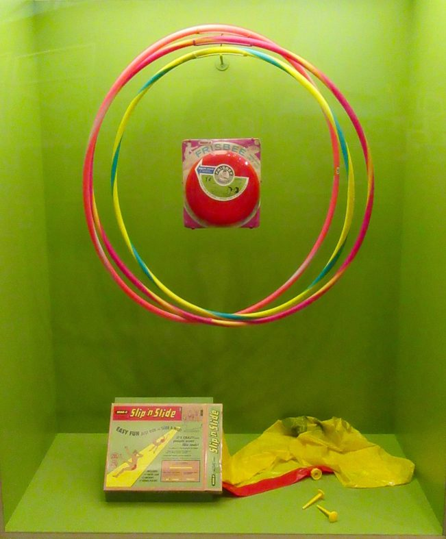 Wham-o Toys Display