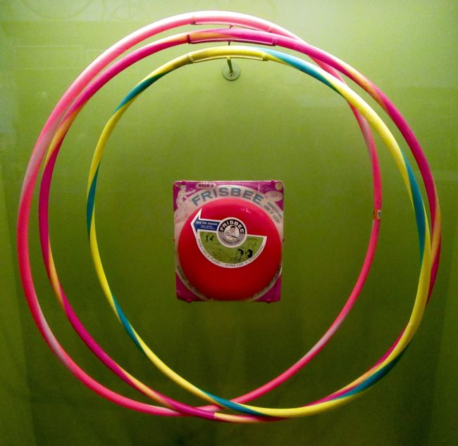 Hula Hoops and Frisbee