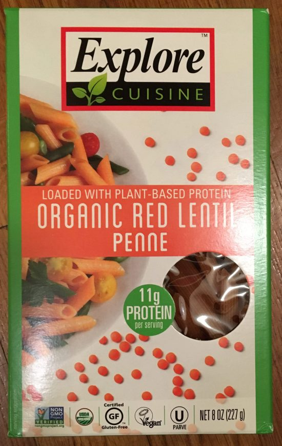 Red Lentil Penne Package