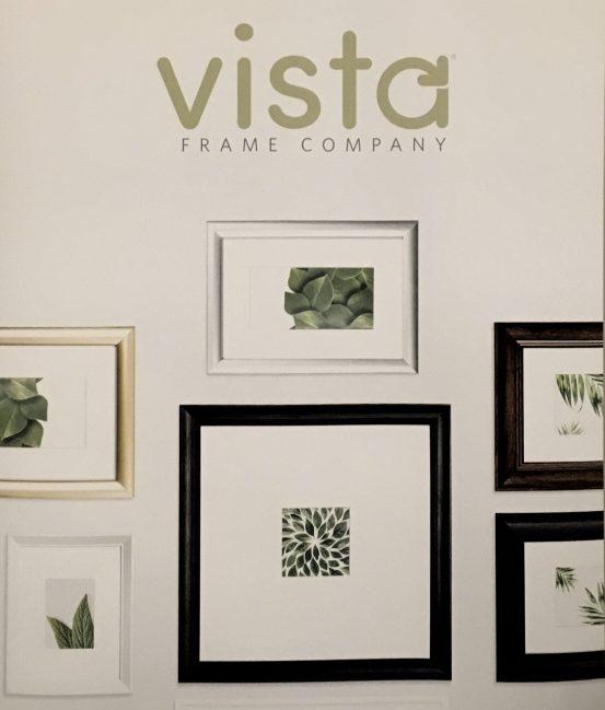 Vista Frame Company Signage