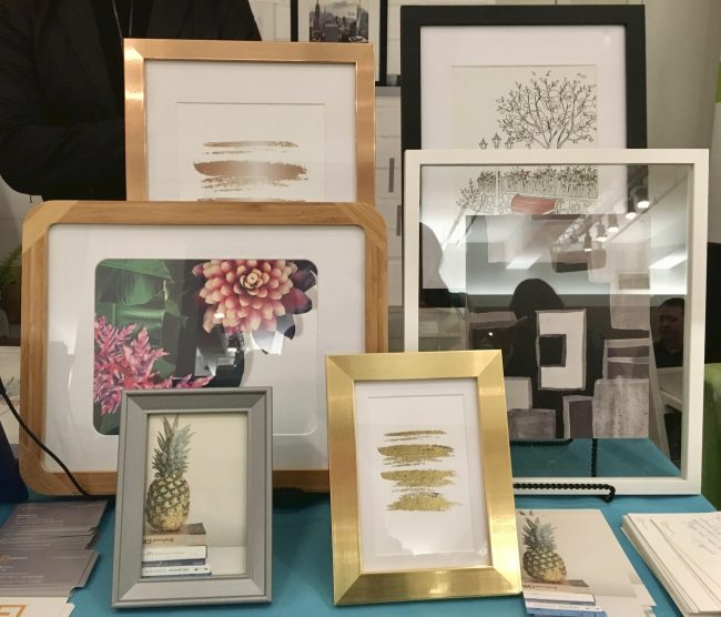 Table Display of Frames