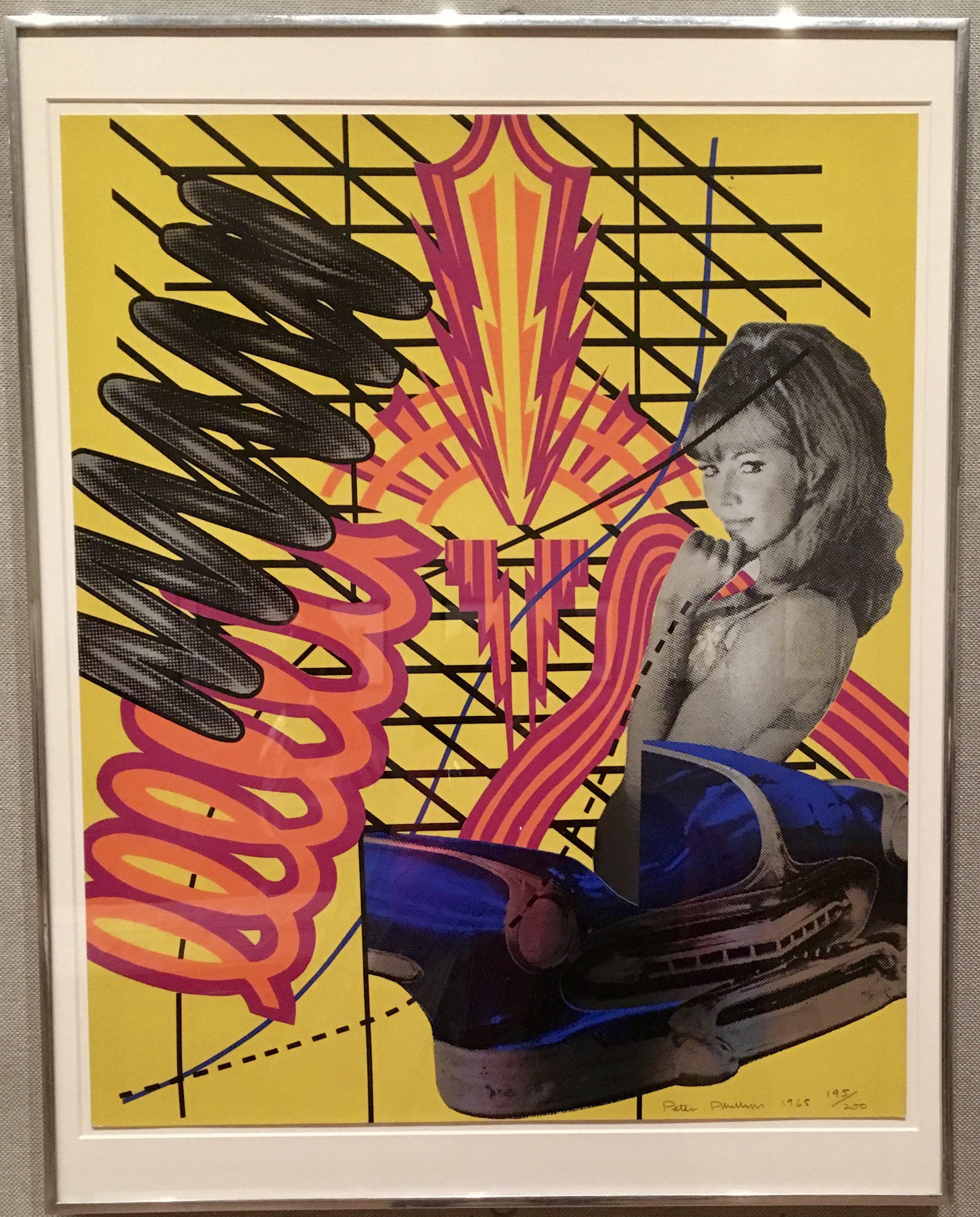 modern art monday presents custom print 1 by peter phillips the
