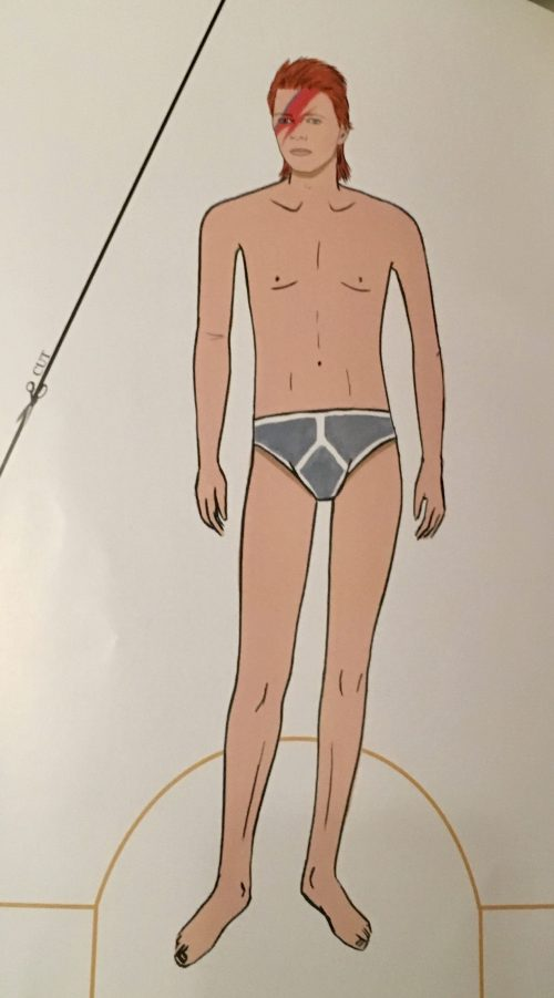 Bowie Underpants Model