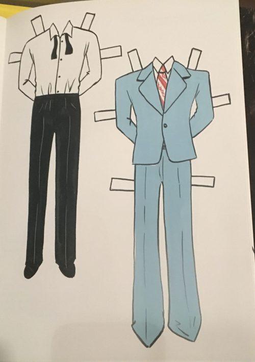 Bowie Blue Suit