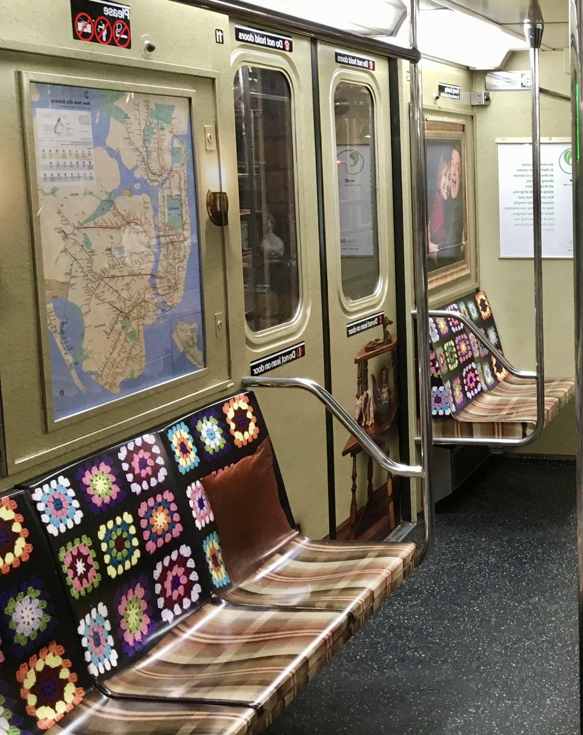 Roseanne Train Car Interior