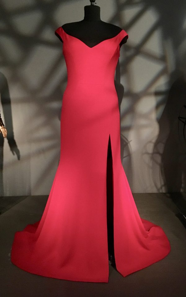 Christian Siriano Red Dress