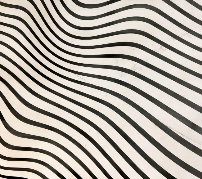 Op Art Floor Covering