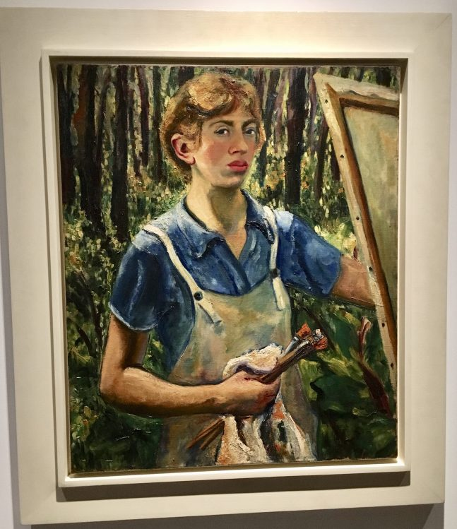 Lee Krasner Self Portrait