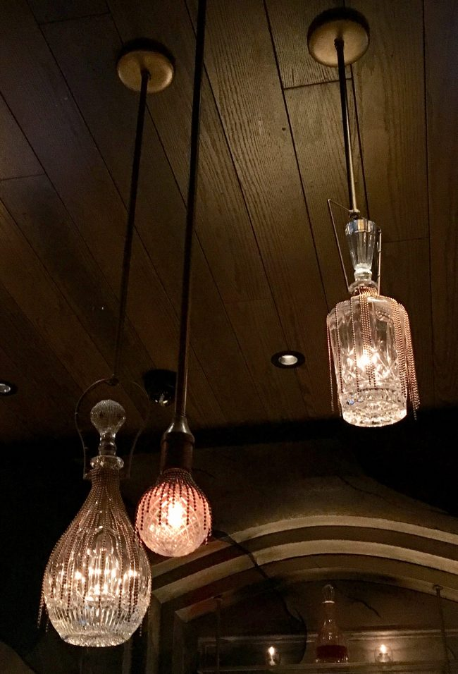 Crystal Decanter Light Fixtures