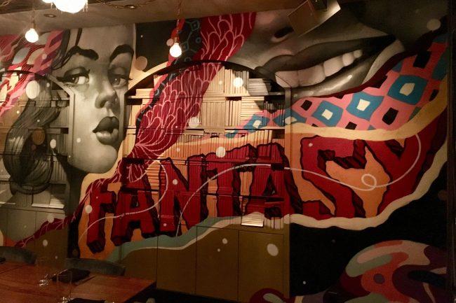 Tristan Eaton Mural Detail