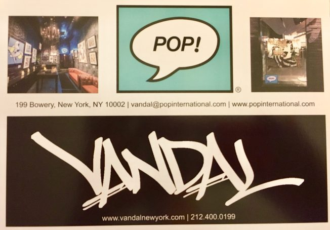 Vandal Pop Post Card