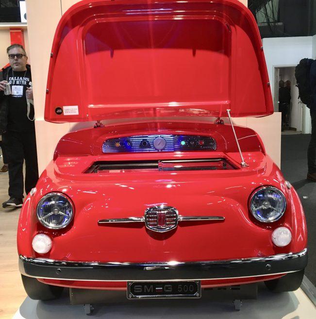 Smeg Fiat 500 Wine Cooler