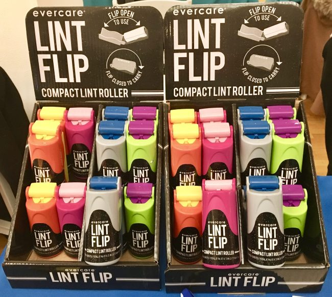 Lint Flip Display View
