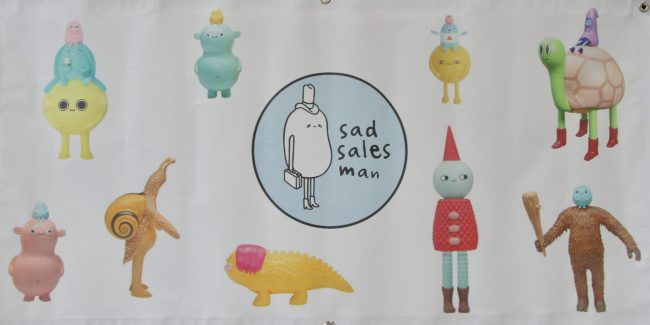 Sad Salesman Banner