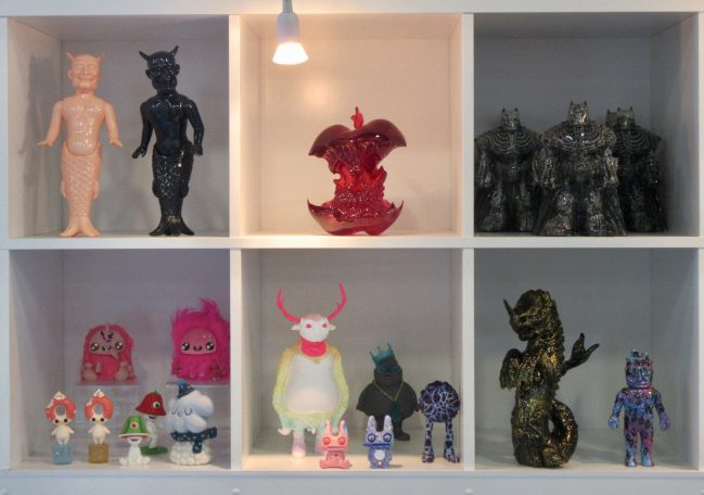 Clutter Display Wall