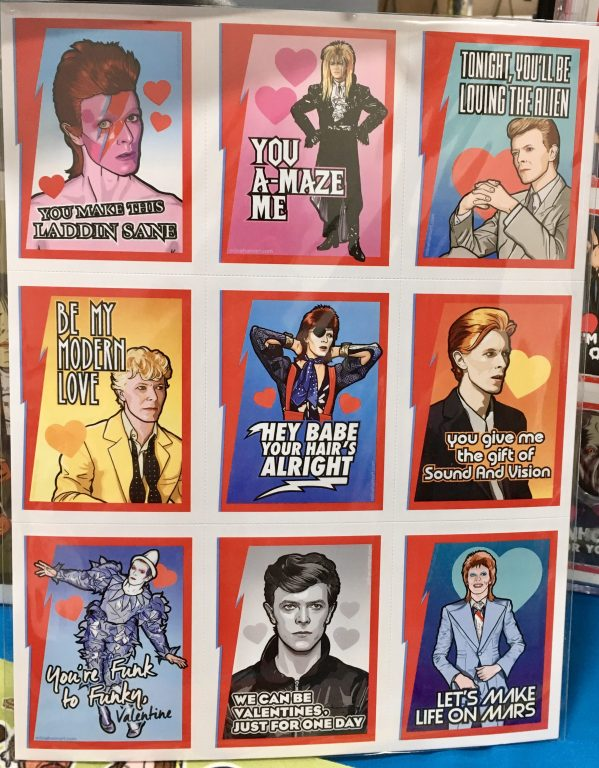 David Bowie Valentines