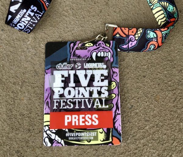 Five Points Fest Badge