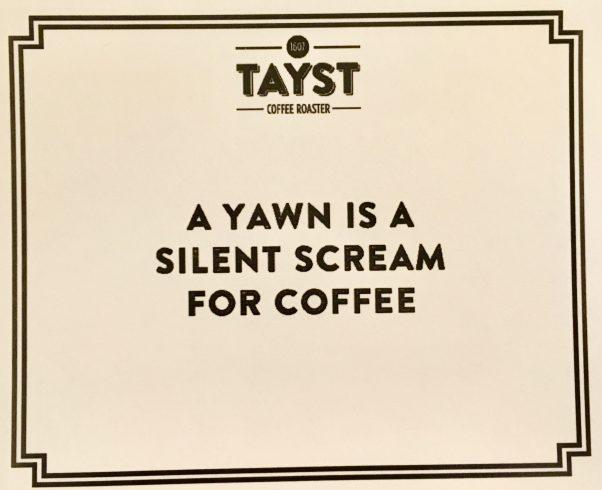A Yawn is a Silent Scream