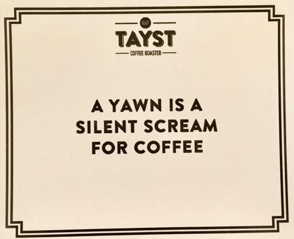 A Yawn is a Silent Scream