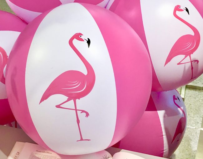 Pink Flamingo Beach Balls