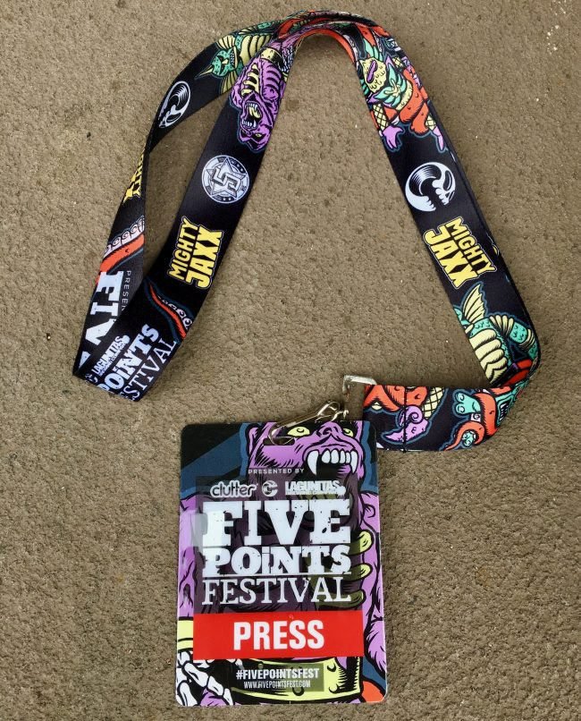Five Points Press Badge