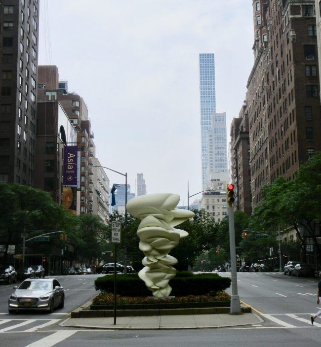 Hammerhead, 2017, Park Avenue at East 72nd Street