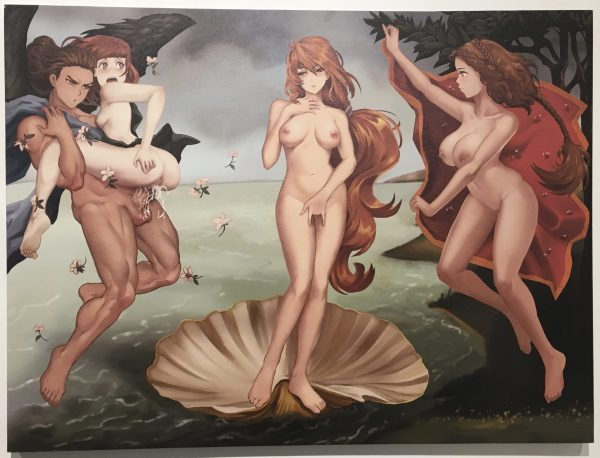 The Birth of Venus By Mezio