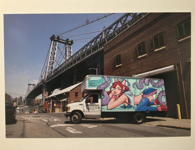 Bushwick Street Art Box Truck