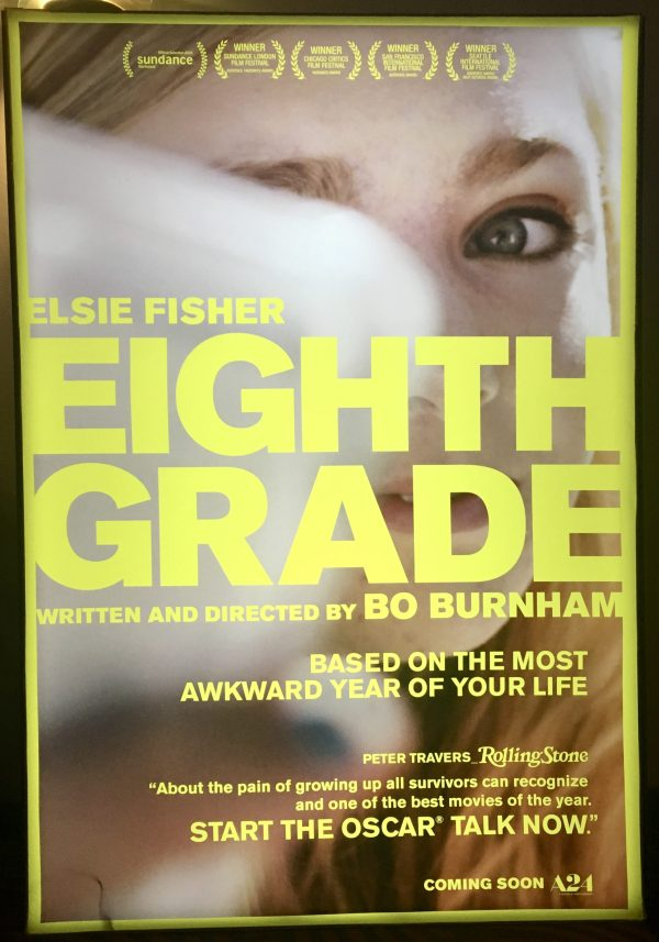Eight Grade Movie Poster