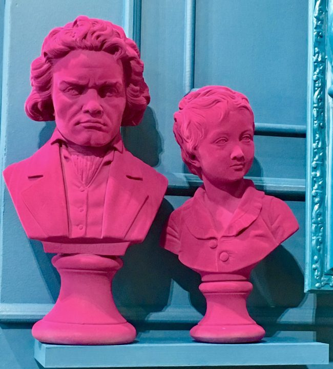 Pink Bust of Beethoven