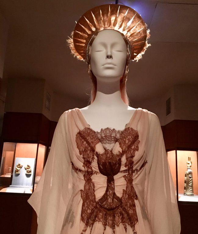 Communion Dress Bust Detail