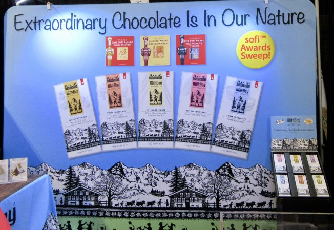 Milk Boy Chocolate Booth Display