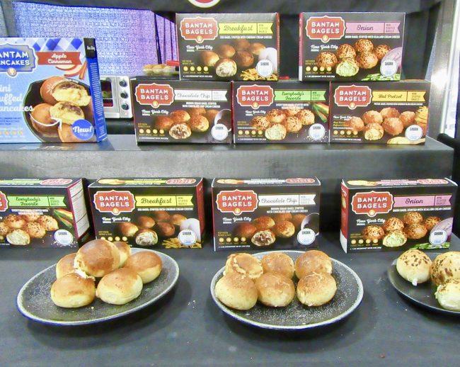 Bantam Bagels Egg Bites Booth Display
