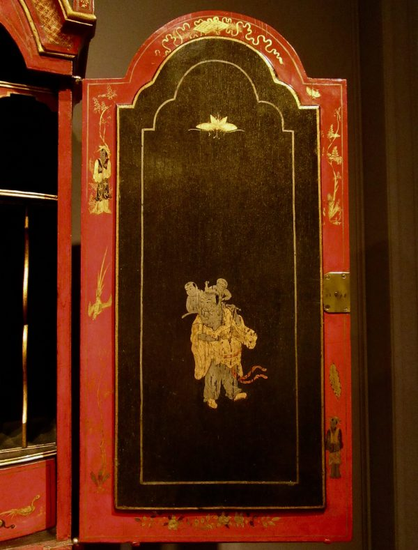 Japanned Cabinet Detail 2