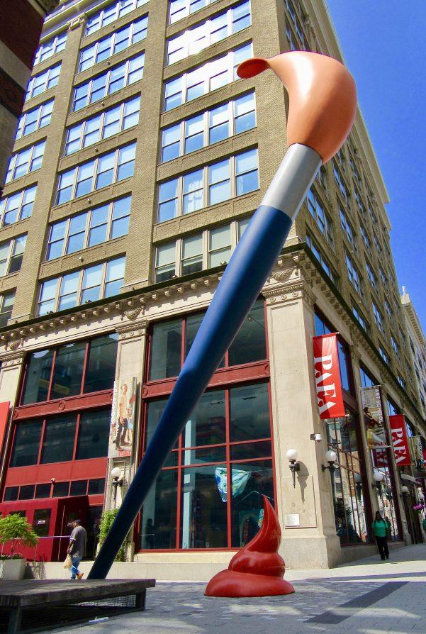 Claes Oldenburg Paint Torch Sculpture