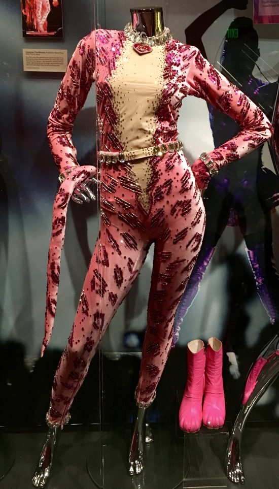Pink Catsuit and Boots