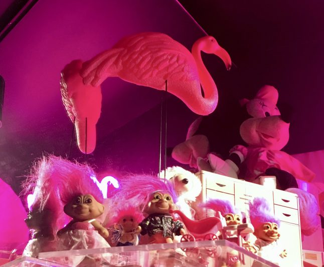 Pink Troll Dolls