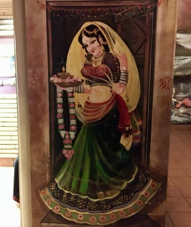 Mural Indian Lady